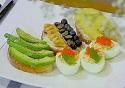 金枪鱼鸡蛋盅——简单食材高颜值(西式综合)