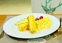 肉松奶酪吐司卷——吐司变形记(西式综合)