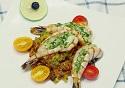 香草虎虾藜麦饭——营养一级棒(南美)