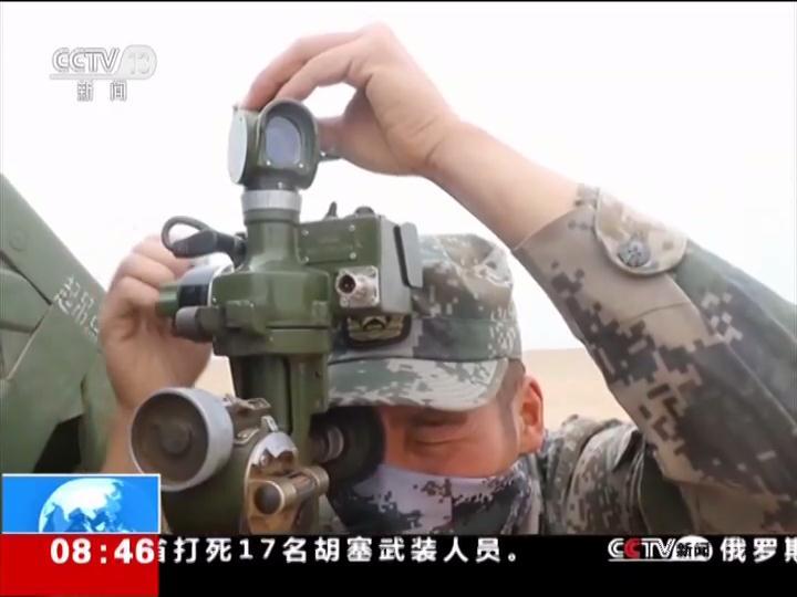 陆军 西北大漠 火箭炮分队实弹射击